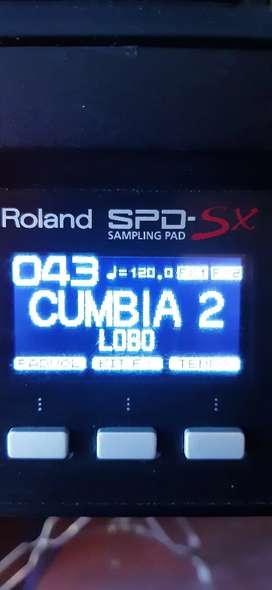 Batería Roland spd sx