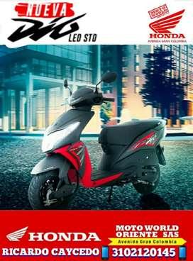 Moto Honda Dio STD modelo 2021