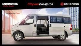 DONGFENG CITYVAN PASAJEROS AC 1.5 5P 4X2 TM - Equinorte