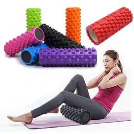 2 Rodillo Espuma Recuperación Yoga Pilates Fitness Foam Roller