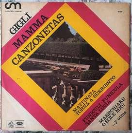 Vinilo Lp Mamma Canzonetas Por Beniamino Gigli 1967 Excelente