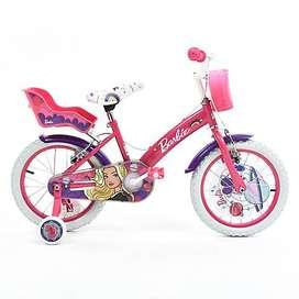 Hermosa bicicleta niña