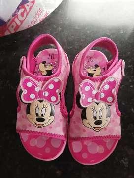 Sandalias de Niña Minnie 25-26 como Nuevas