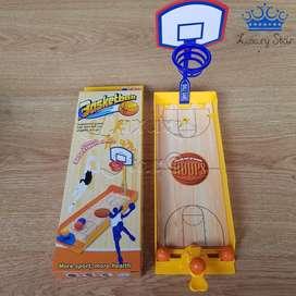 Mini Cancha Baloncesto Juego De Mesa Basketball Destreza