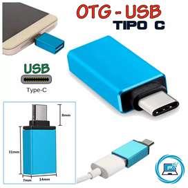 OTG adaptador Tipo C a USB para smartphones