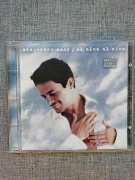 """Cd Alejandro Sanz """"el alma al aire"""""""