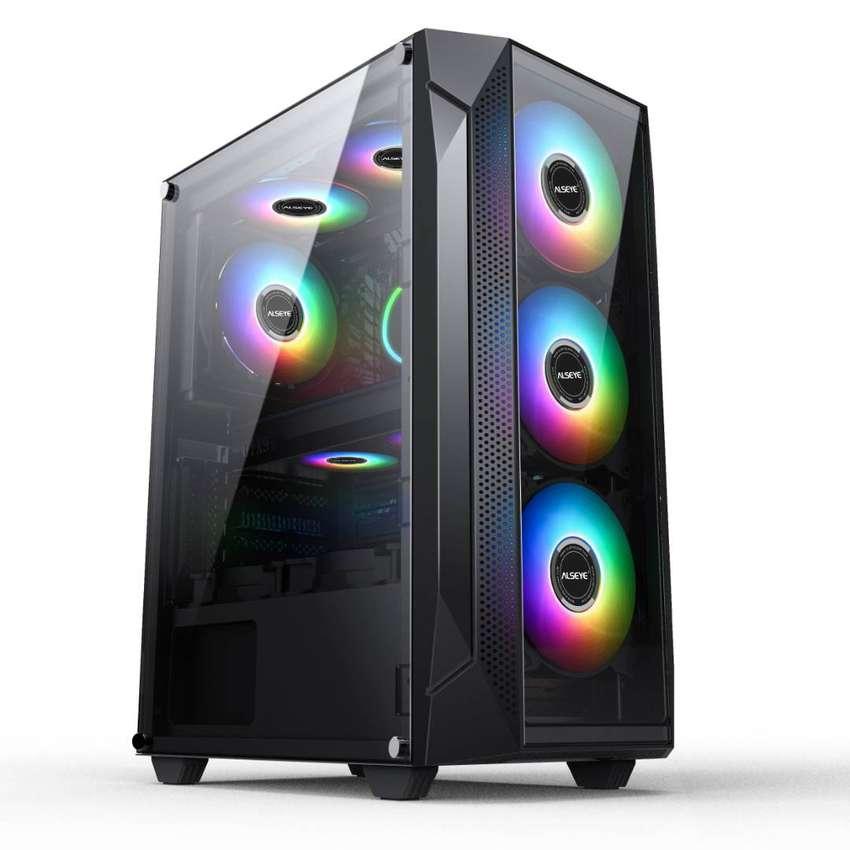 Chasis Caja Gabinete Atx Gamer Alseye E-phantom 1.0 No Fan