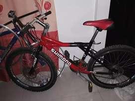 Bicicleta todo terreno  nueva con freno de disco