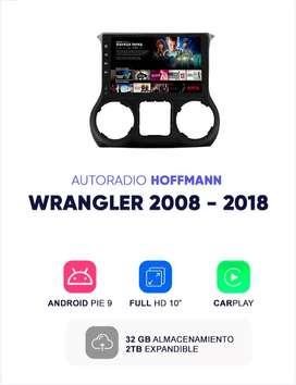 Autoradio Homologado Jeep Wrangler 2008 – 2018 10″ Hoffmann Android
