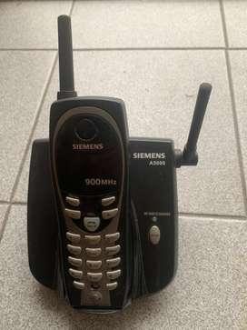 Telefono inalambrico SIEMENS A5000