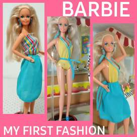 JUGUETE BARBIE MY FIRST FASHION SET X 3 PIEZAS
