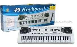 Organeta Infantil Micrófono Sintetizador Ms-013