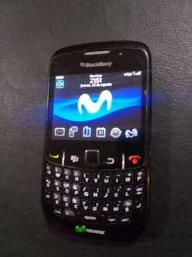 Celular Blackberry movistar com detalles