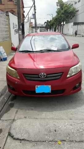 Vendo Auto Toyota Corolla año 2009