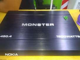 Amplificador 4 Canales 1800 Watts M-450.