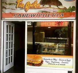 Fondo comercio Sandwicheria
