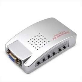 CONVERSOR VGA A S-VIDEO Y RCA Referencia: 166