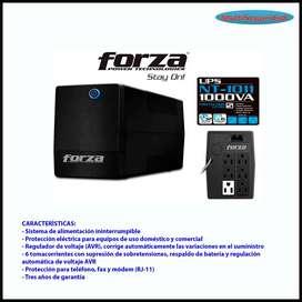 UPS FORZA NT-1011 6 TOMAS 120V INC IVA 1000VA 500W