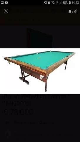 Mesa de pool revatible