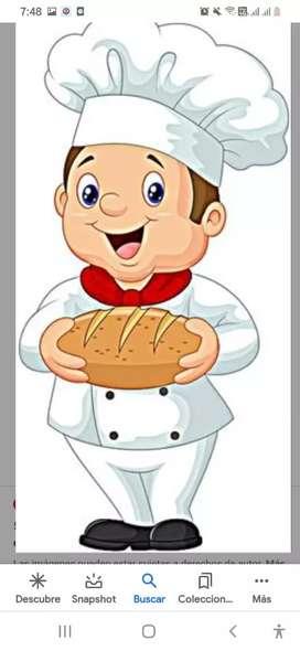 Busco panadero con experiencia hacer todo tipo de pan y resposteria .