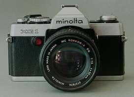 Cámara fotográfica MINOLTA XG1 con Flash y Motor marca Minolta. Oportunidad