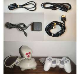 Sony Xbox Nintendo Gameboy Game Cube 64 cargado audio video energia poder computador portatil control cable play station