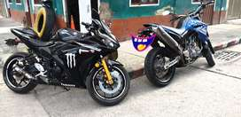 Gangazo Yamaha R3 motivo viaje