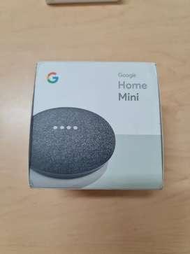 Google Home mini Sellado