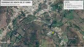 Gran Oportunidad Venta Hermoso Terreno en Pallatanga de 37.129 m² Precio Bajo