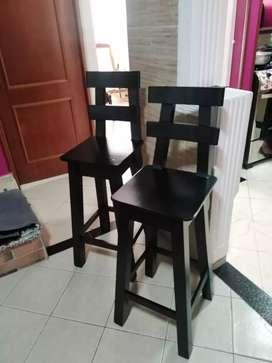 Se venden par de sillas Bar