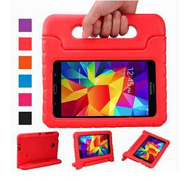 """Estuche Funda Para Samsung Galaxy Tab 4 De 7"""" , Color Rojo $13.99"""