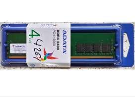 MEMORIA RAM DDR4, 4GB - (NUEVA) VENDO O CAMBIO