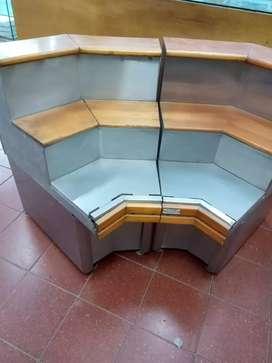 Mueble organizador 2 módulos