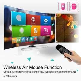 Teclado AIR Mouse LED 7 colores, inalambrico batería incorporada para Tv Smart, Pc, Tv Box, Tablet, Etc