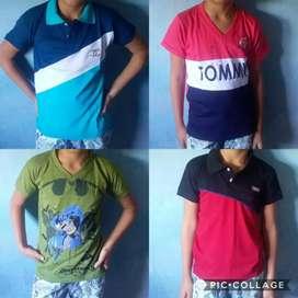 Camisas y blusas de niños varios modelos y colores haga su pedido entregamos a domicilio sin ningún recargo