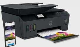 Se vende impresora hp tank 530