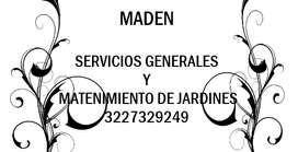 SERVICIO DE LIMPIEZA Y MANTENIMIENTO DE JARDINES