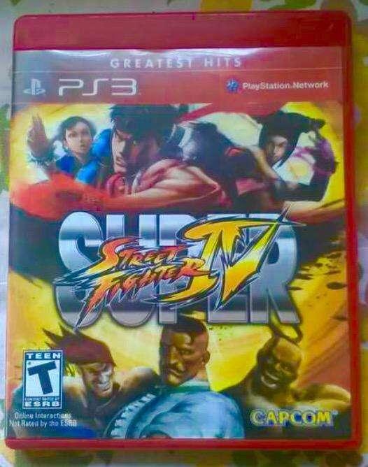 A la venta GRAN juego de play station 3 SUPER STREET FIGHTER lV