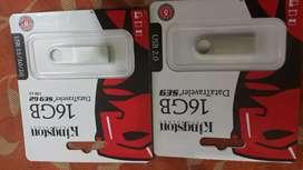 Memorias USB 16GB kingston lote de 10