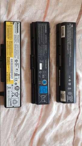 Discos duros, baterías de portatil cargador de portátil.