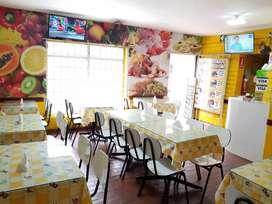 Traspaso restaurante en San isidro