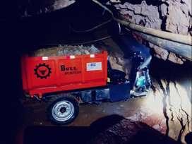mini dumpers eléctrico o petrolero (variedad de modelos)