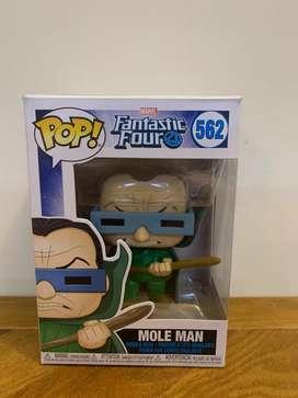 Funko Pop Mole Man!! Marvel Fantastic Four (Original)