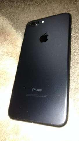 Iphone 7 plus 128 gb blak