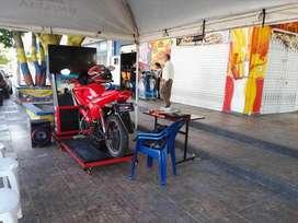 Simulador De Conducción Motocicleta - Creado Para La ANSV