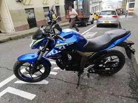 Vendo moto Gixxer en excelente estado