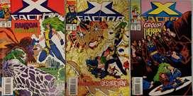 COMICS X-FACTOR SET 5 ((95,96,97)