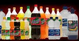 Gaseosas Manaos y Coca cola! Zona sur