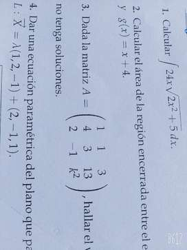 Profesor Particular Matemática