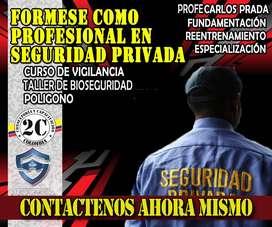 Curso de Vigilante privado en Bogota